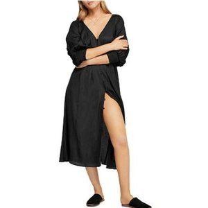 Free People Later Days Black Dress. Size: 0